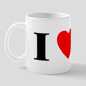 I Heart Vizsla Mug