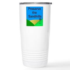 Preserve the Sandhills Stainless Steel Travel Mug
