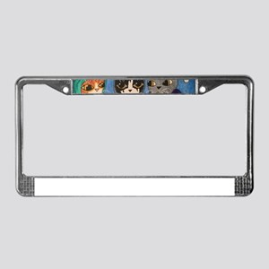 Christmas Carol Singers License Plate Frame