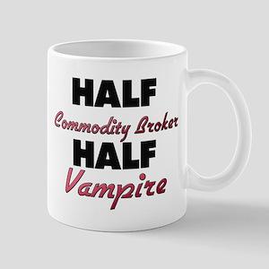 Half Commodity Broker Half Vampire Mugs