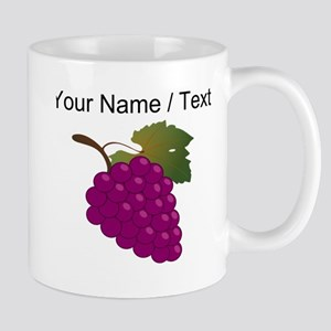 Custom Purple Grapes Mugs