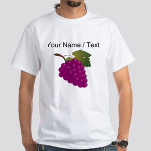 Custom Purple Grapes T-Shirt