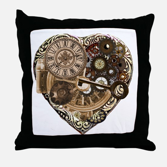 Key to my heart Throw Pillow