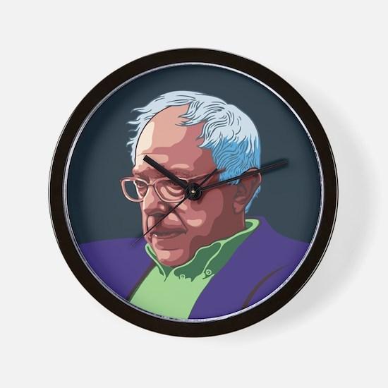 Bernie Sanders -col Wall Clock