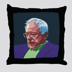 Bernie Sanders -col Throw Pillow