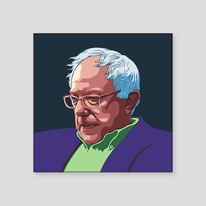 "Bernie Sanders -col Square Sticker 3"" x 3"""