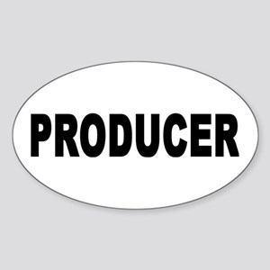 PRODUCER Oval Sticker