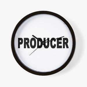PRODUCER Wall Clock
