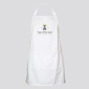 """""""Year of the Goat"""" BBQ Apron"""