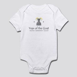 """Year of the Goat"" Infant Bodysuit"