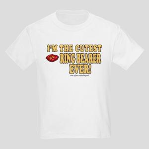 Cutest Ring Bearer Ever Kids T-Shirt
