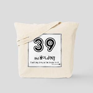 39AHC Thats My Story-Black Tote Bag