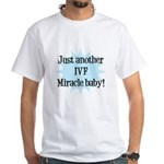 IVF Miracle Baby (Maternity) White T-Shirt
