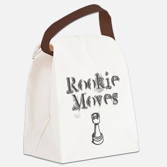Rookie Moves Canvas Lunch Bag