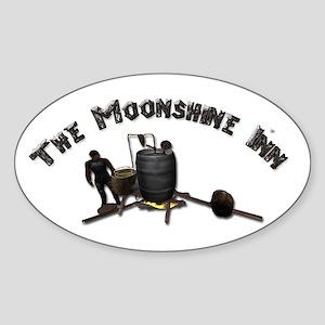 Thee Moonshine Inn Sticker