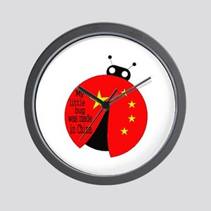 Little Bug Wall Clock