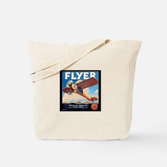 Vintage Flyer Carry-On Tote Bag