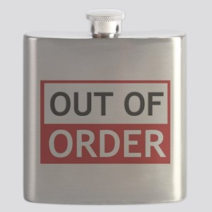 Out Of Order Sign TBBT Flask