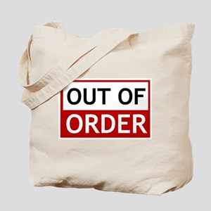 Out Of Order Sign TBBT Tote Bag