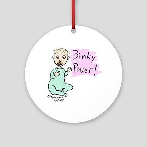 Binky Power Ornament (Round)