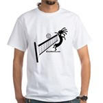 Kokopelli Volleyball Player White T-Shirt