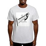 Kokopelli Volleyball Player Ash Grey T-Shirt