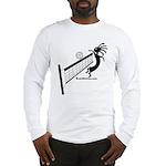 Kokopelli Volleyball Player Long Sleeve T-Shirt