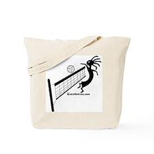 Kokopelli Volleyball Player Tote Bag