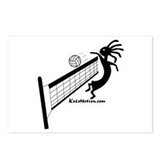 Kokopelli Volleyball Player Postcards (Package of