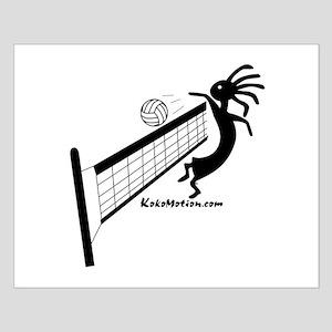 Kokopelli Volleyball Player Small Poster