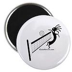Kokopelli Volleyball Player Magnet