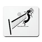 Kokopelli Volleyball Player Mousepad