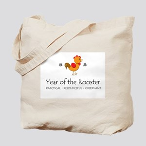 """Year of the Rooster"" Tote Bag"