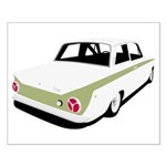 Lotus Cortina Small Poster