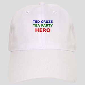 Ted Cruze Tea Party Hero Baseball Cap