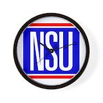 NSU Wall Clock