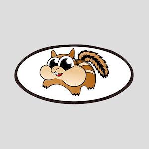 Cartoon Chipmunk Patches