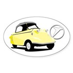 Messerschmitt Oval Sticker