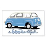 Multipla Rectangle Sticker
