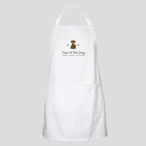 """Year of the Dog"" BBQ Apron"