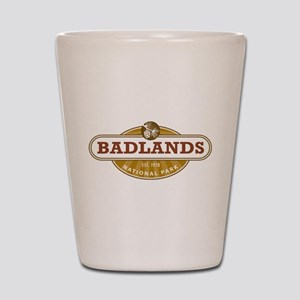 Badlands National Park Shot Glass