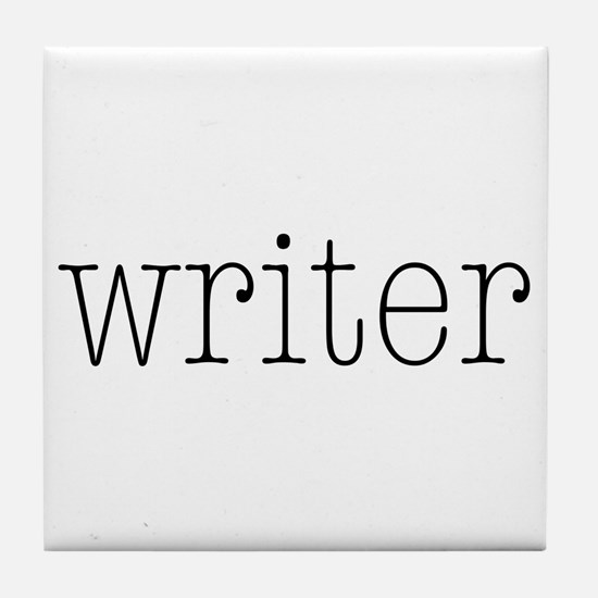 Writer Tile Coaster