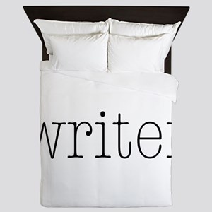 Writer Queen Duvet