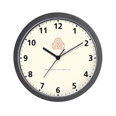 PTV Wall Clock