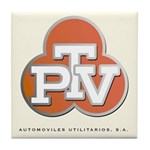 PTV Tile Coaster