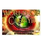 World of Caenyr Postcards (Package of 8)