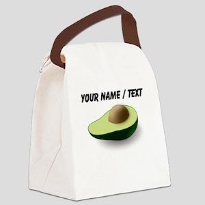 Custom Avocado Canvas Lunch Bag