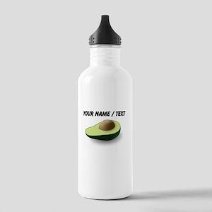 Custom Avocado Sports Water Bottle