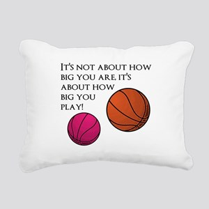 How Big You Are Rectangular Canvas Pillow