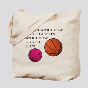 How Big You Are Tote Bag